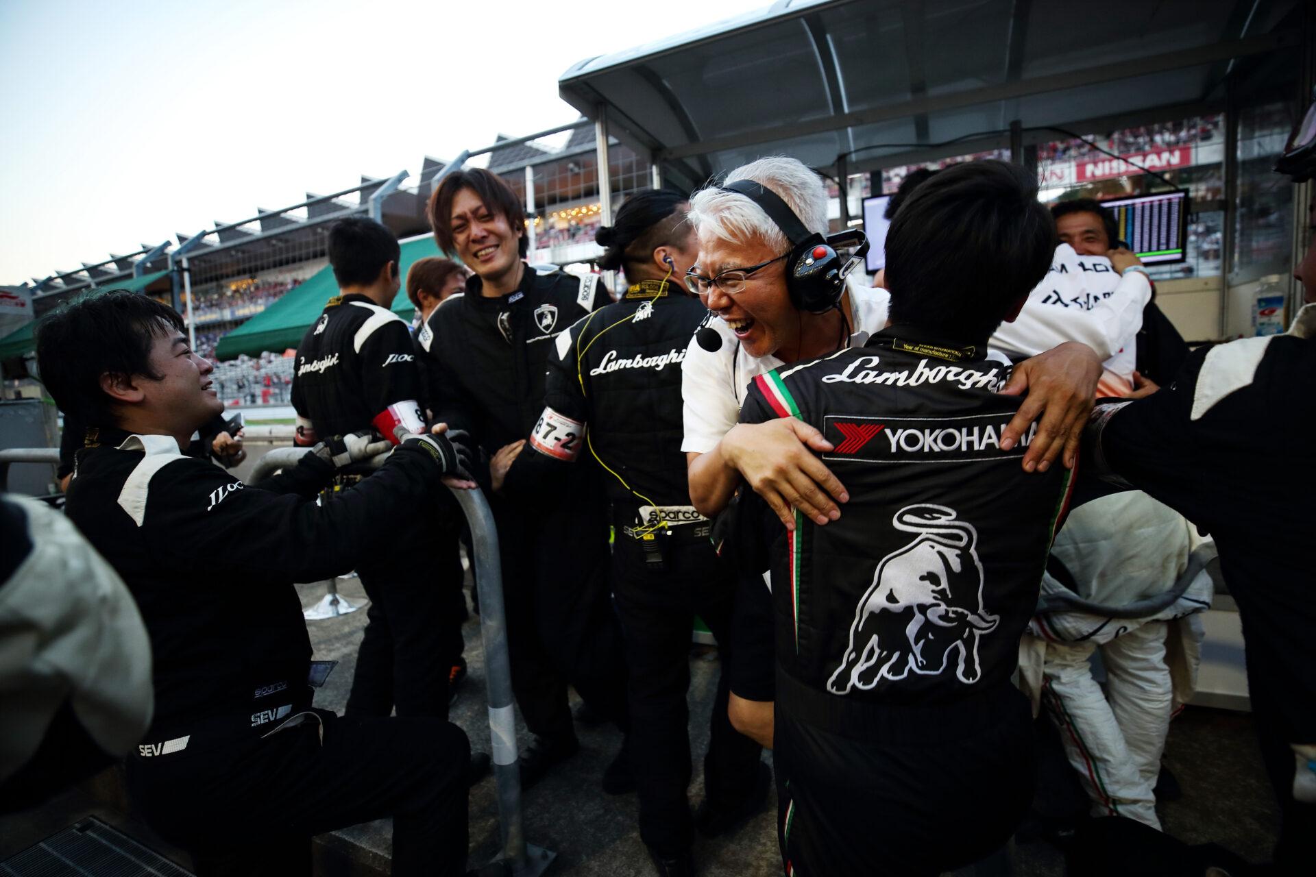 T-DASH ランボルギーニ GT3が初優勝‼ 第5戦富士スピードウェイ